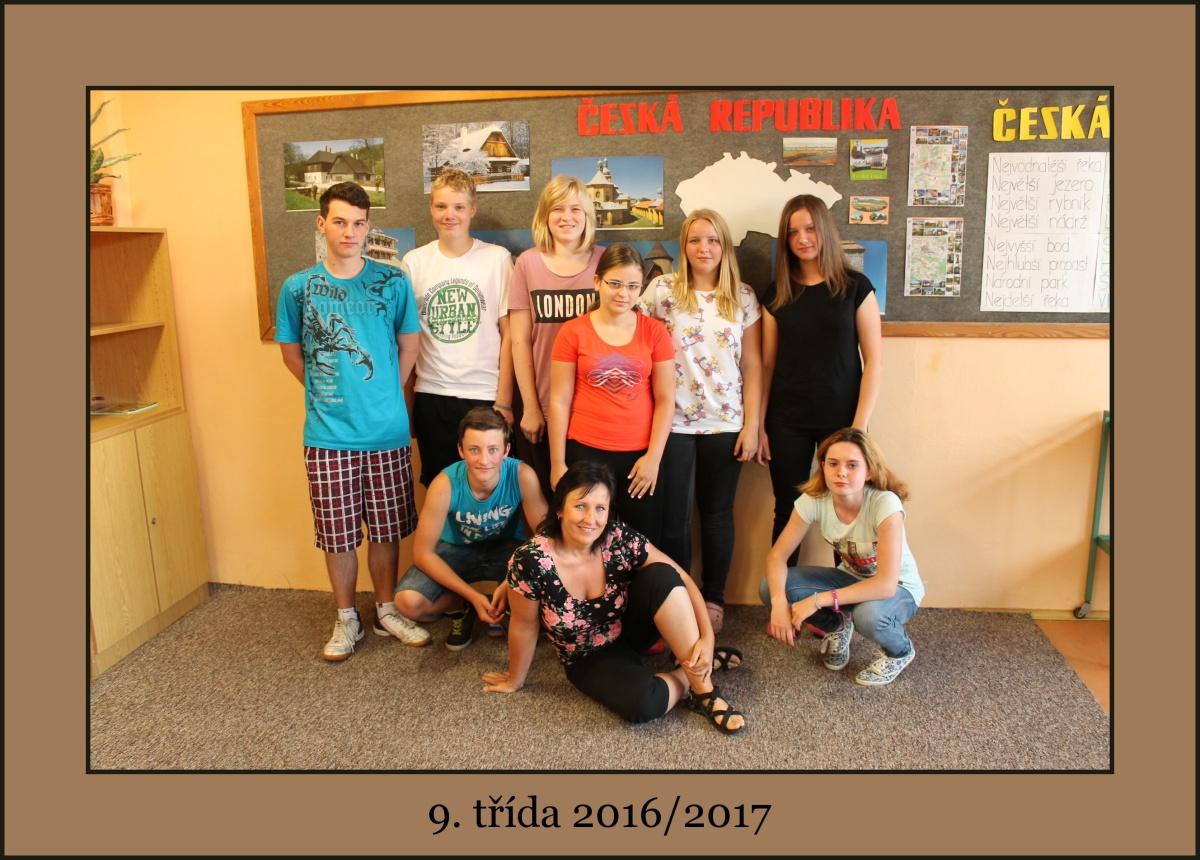 Vycházející žáky vede ve školním roce 2016/2017 puč Iva Peškováac