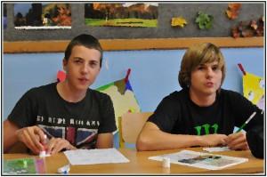 Osmáci se učí o Evropě