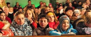 Vánoce 2012 v kravařském kostele.