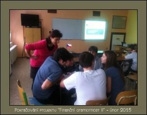Finanční gramotnost na ZŠ Kravaře - únor 2015