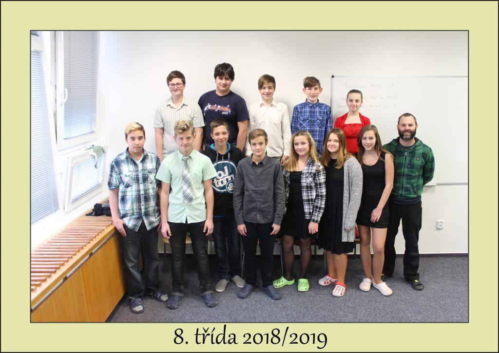 Ve školním roce 2018/2019 s třídním učitelem Andreasem Savvou.