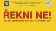 Představení kampaně Say No! / Řekni Ne! – online sexuálnímu nátlaku a vydírání dětí Národní centrála proti organizovanému zločinu služby kriminální policie a vyšetřování Policie České republiky (NCOZ) se zapojila […]