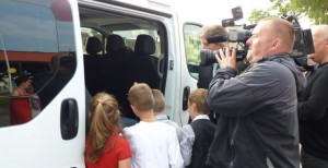 Kameraman České televize.