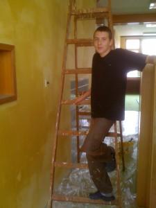 malíř, hasič, boxer Matěj Provazník