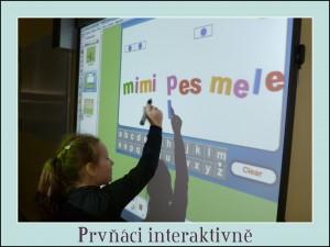 Prvňáčci interaktivně 2012