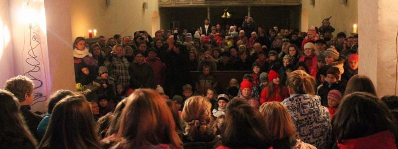 Vánoce v blíževedlském kostele