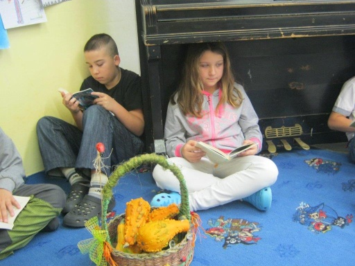 Čtenářské dílny v 5. třídě