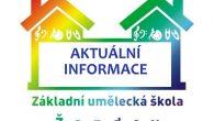 Aktuální informace k postupné obnově výuky ze ZUŠ Žandov.