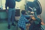 Kravařští školáci v kině v Doksech
