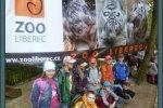 Prvňáci v ZOO Liberec